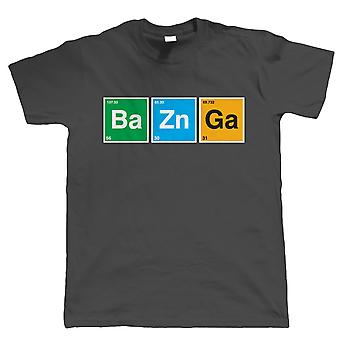 Bazinga, T Shirt Mens Funny Sci-Fi Geek Table Périodique