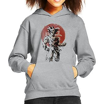 Rising Saiyan Son Goku Dragon Ball Super Kid's Hooded Sweatshirt
