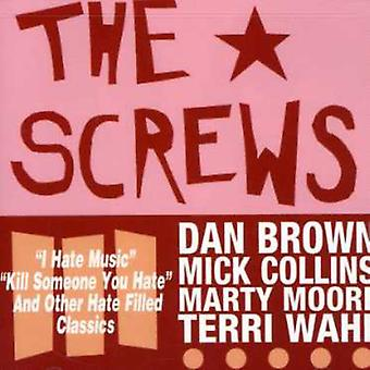 Screws - 12 New Hate-Filled Classics [CD] USA import