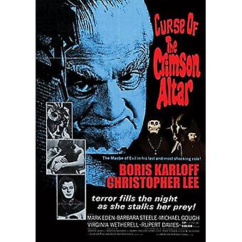 Curse of the Crimson Altar [DVD] USA import