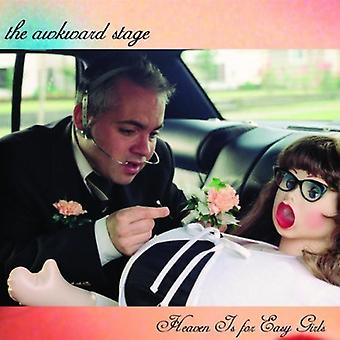 Awkward Stage - Heaven Is for Easy Girls [CD] USA import