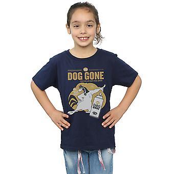 Looney Tunes meisjes Foghorn Leghorn hond gegaan T-Shirt