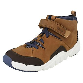 Boys Clarks Ankle Boots Tri Mimo