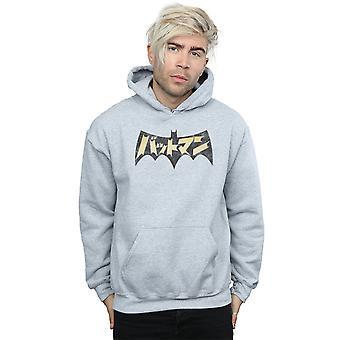 DC كاريكاتير الرجال & apos;ق باتمان الشعار الدولي هودي