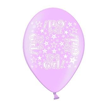 Simon Elvin It´s A Girl Latex Balloons (Pack Of 10)