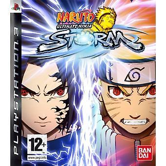 Naruto Ultimate Ninja Storm (PS3)-ny