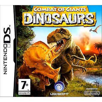 Dinosaurs Combat Of Giants (Nintendo DS) - New