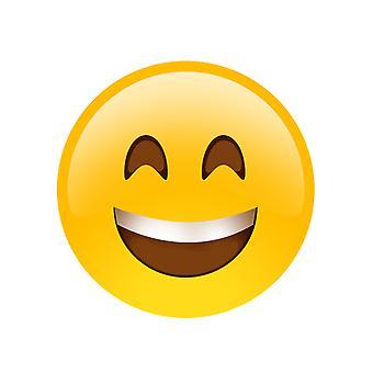 Hymyssä suin Emoji naamio