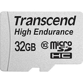 Transcend High Endurance microSDHC kaart 32 GB Class 10 SD incl. adapter