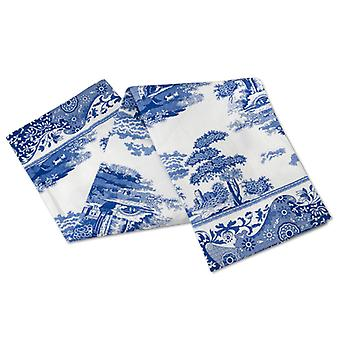 أزرق بورتميريون الإيطالية الشاي منشفة