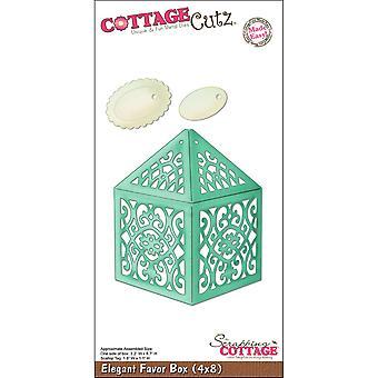 Cottagecutz Dies-elegant Favor Box 3,2