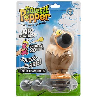 Cheatwell Games Owl Squeeze Popper - Soft Foam Shooter***