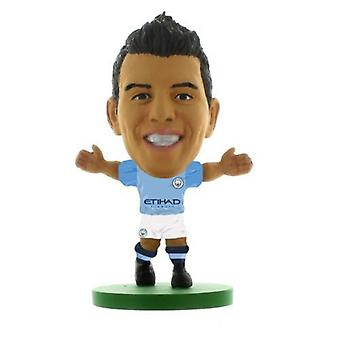 Soccerstarz Man City Sergio Aguero (2019) Home Kit