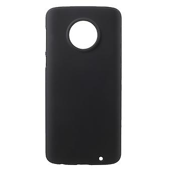 Motorola Moto G6 Plus Shell Plastikowa powłoka Gumowana - Czarna