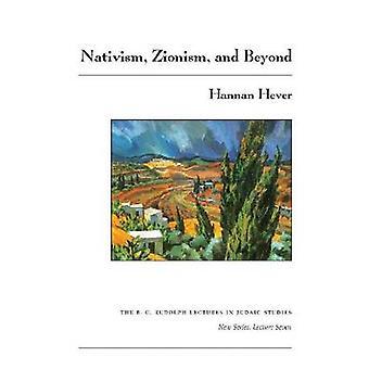 Natywizmmem - Syjonizm - i nie tylko przez Hannan Hever - 9780815681809 książki