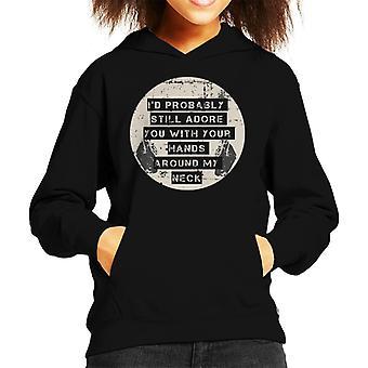 Alex Turner 505 Song Lyrics Kid's Hooded Sweatshirt