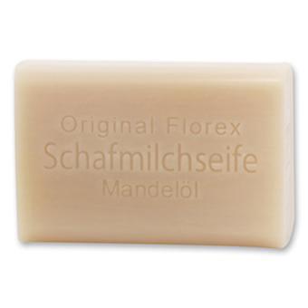 Florex Schafmilchseife - Mandelöl - herrlicher feiner Duft mit viel Feuchtigkeit 100 g
