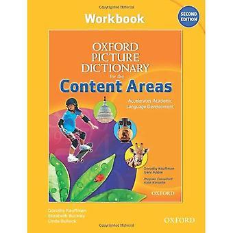 Foto woordenboek van Oxford voor de inhoudsgebieden: werkmap