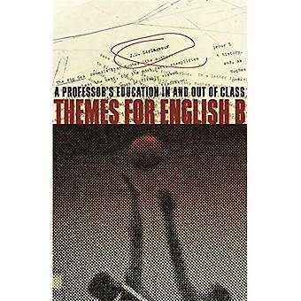 Themes for English B: A Professor's Education In and Out of Class