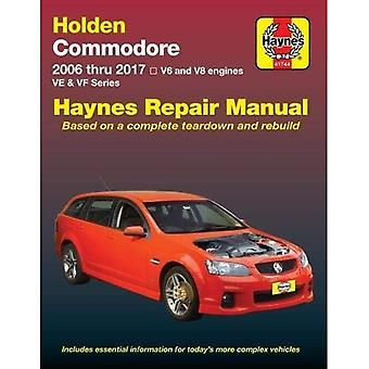 HM Holden Commodore VE VF essence 2006-17