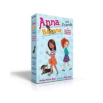 Anna, banan och vänner--en fyra-bok Paperback samling
