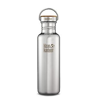 Klean Kanteen Reflect Mirrored - 800ml Stainless Steel bottle with Bamboo Cap