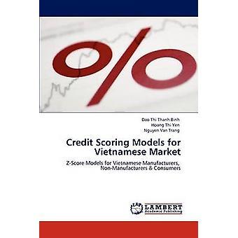 Credit Scoring modellen voor de Vietnamese markt door Thi Thanh Binh & Dao