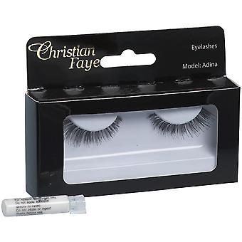 Christian Faye Eyelashes Adina With Glue