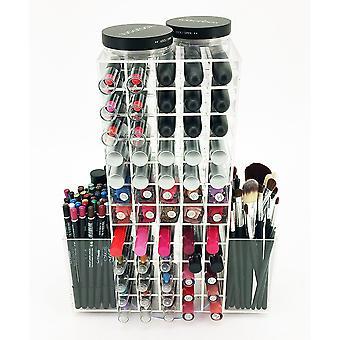 OnDisplay LIP120 Rotating Acrylic Cosmetic/Makeup Organizer