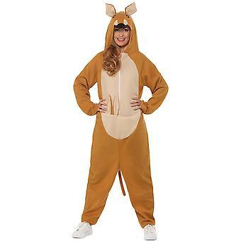 Kangaroo kostým dospelých Unisex zviera kostým celkovo Kangaroo kostým