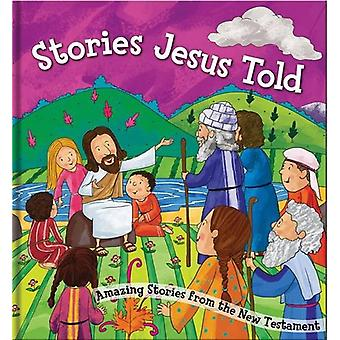 Square Cased Bible Story Book - Stories Jesus Told by North Parade Pu
