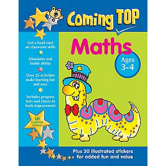 Coming Top - Maths - Ages 3-4 - 60 Gold Star Stickers - Plus 30 Illustr
