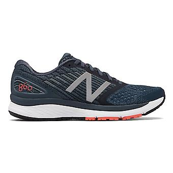 New Balance 860v9 Mens 2e Width (wide) Road Running Shoes With Support Petrol
