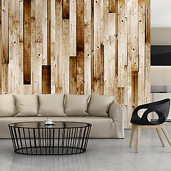 Fototapetti - Wooden boards