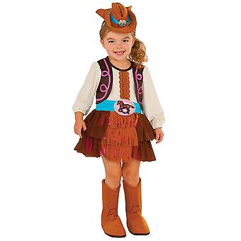 Cowgirl Rodeo Indian Western Wild West Texas Book Week Toddler Girls Costume T