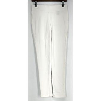 Slimming Options for Kate & Mallory Knit Pull On Leggings White A423883