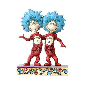 Dr. Seuss Thing 1 and Thing 2 Figurine