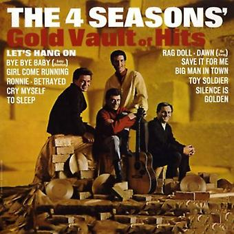 Frankie Valli & the Four Seasons - Gold Vault of Hits [CD] USA import