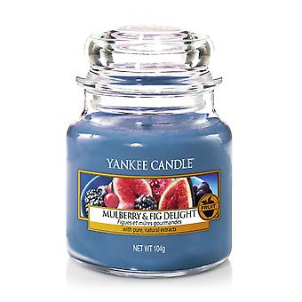 Yankee Candle Classic Pequeno Jar Mulberry e Fig Delight 104g