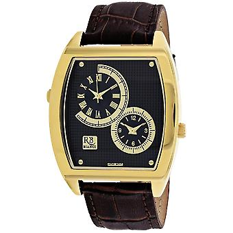 Roberto Bianci Men's Benzo Black Dial Uhr - RB0743
