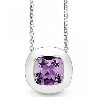 QUINN - Necklace - Women - Silver 925 - Gemstone - Amethyst - 27250933