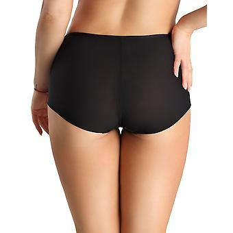 Nessa NO2 Women's Linda Black Full Panty Highwaist Brief