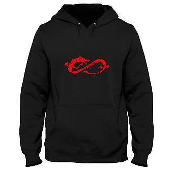 Black man hoodie fun3790 dragon