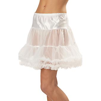 Ruffled White Pettiskirt