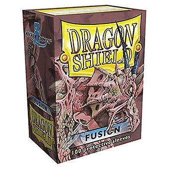 Dragon Shield 100 Deck Protective Sleeves Fusion (Pacote de 10)