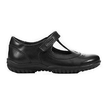 Geox Девушки J Тень C Кожаная обувь