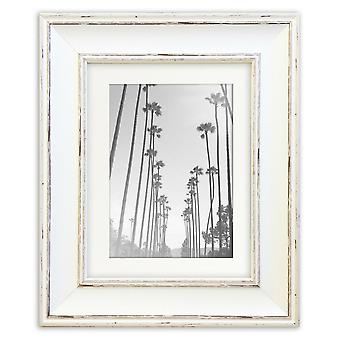 Shabby Chic Cream Photo Frame Madison Picture Poster Wide Distressed Wall Mounted