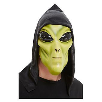 Groene latex Alien gezichtsmasker