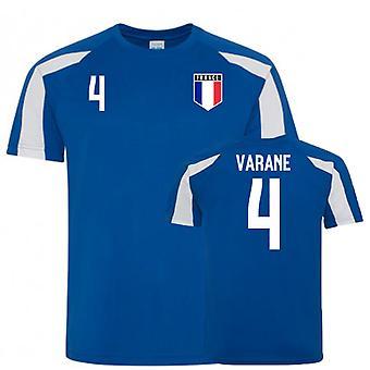 Frankrig Sports træningstrøje (Varane 4)