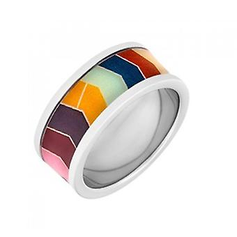 Christian Lacroix Bayad re Ring XF22008L - Silver Steel 9mm Women